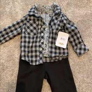 NWT Little Brother Mickey Checker Set